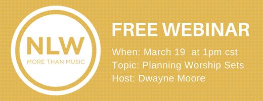FREE Worship Webinar