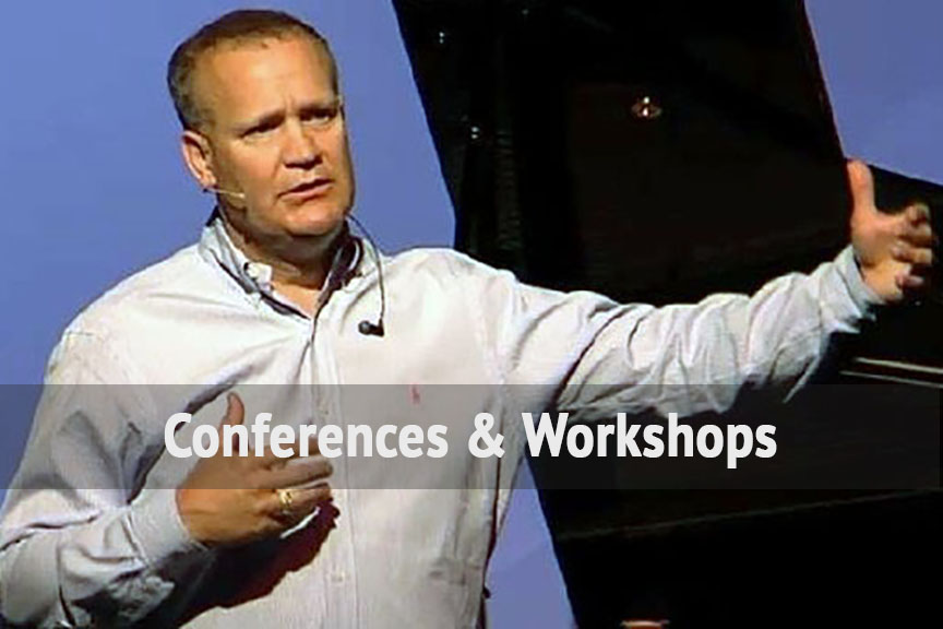 <b>Conferences &#038; Workshops</b><br> Dwayne and our team love leading regional conferences and local church workshops to train worship teams and churches about worship. We also do consulting for churches. Click on Training at the top for more information.