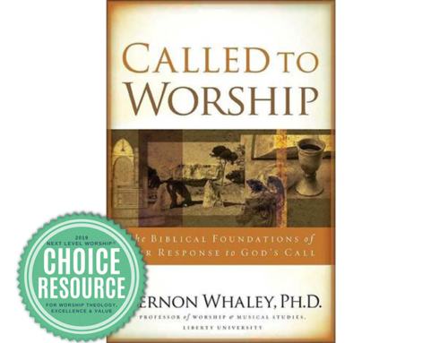 Called to Worship: Interview with Dr. Vernon Whaley