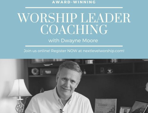 Worship Leader Coaching Starts June 2nd!